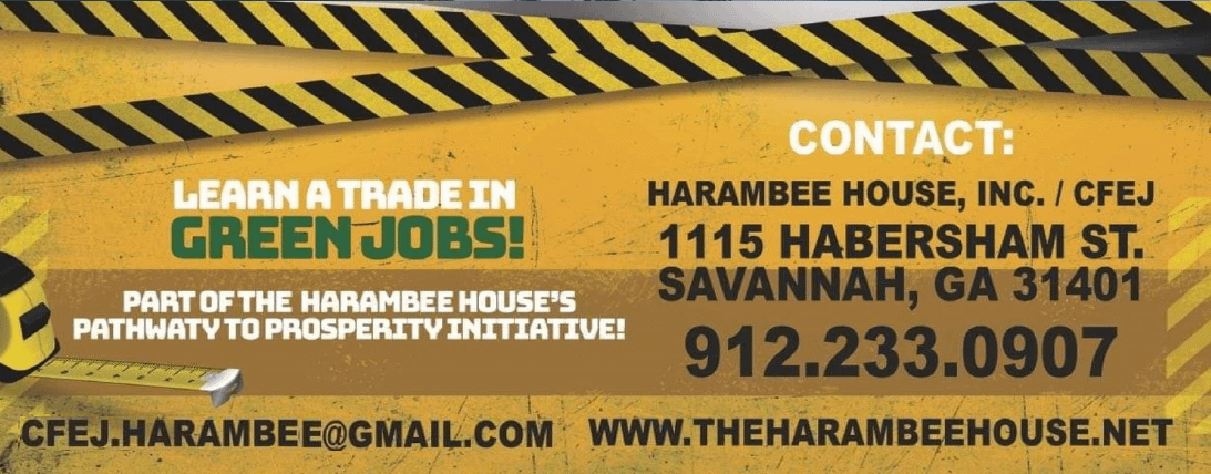 Training at Harambee House