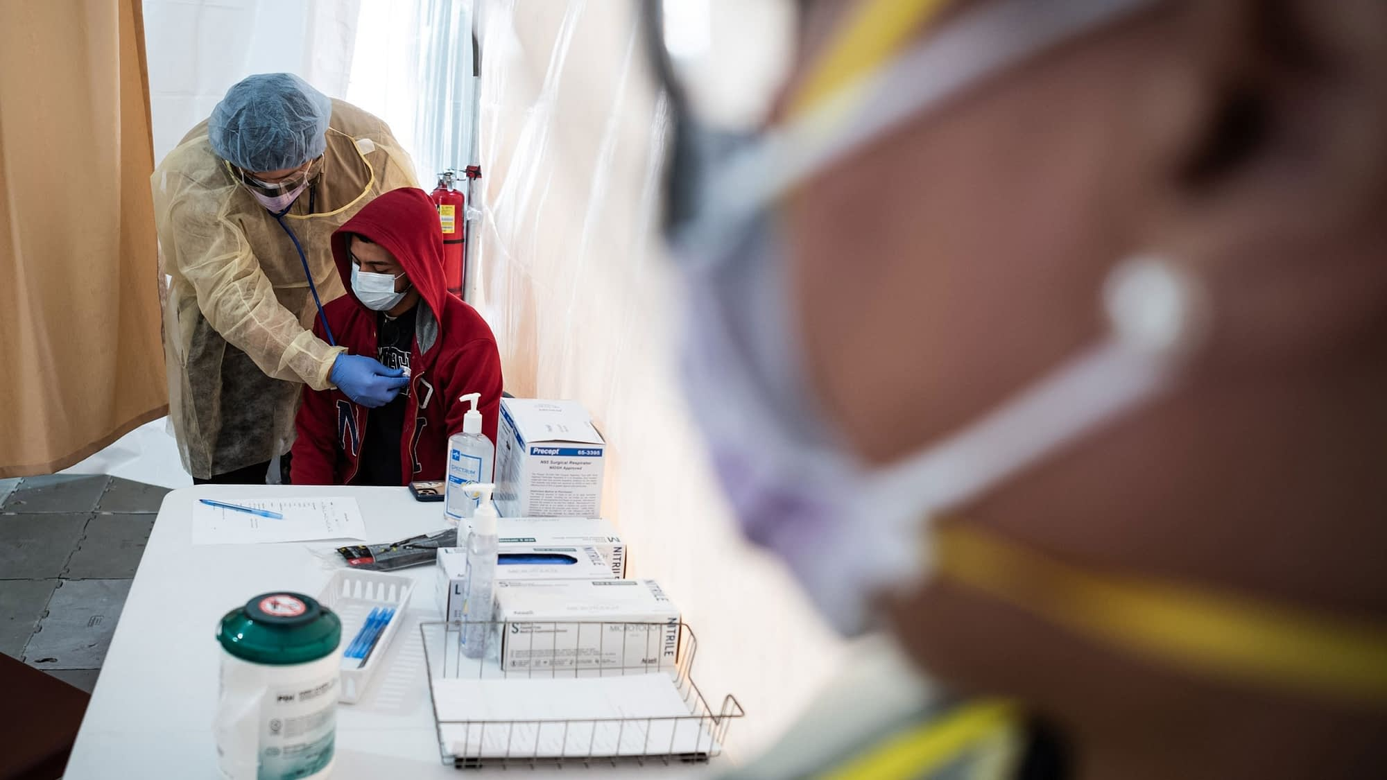 As US testing increases, infection rates explode