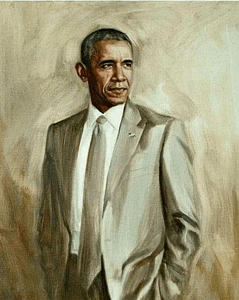 Pres. Barack Obama's White House Portrait